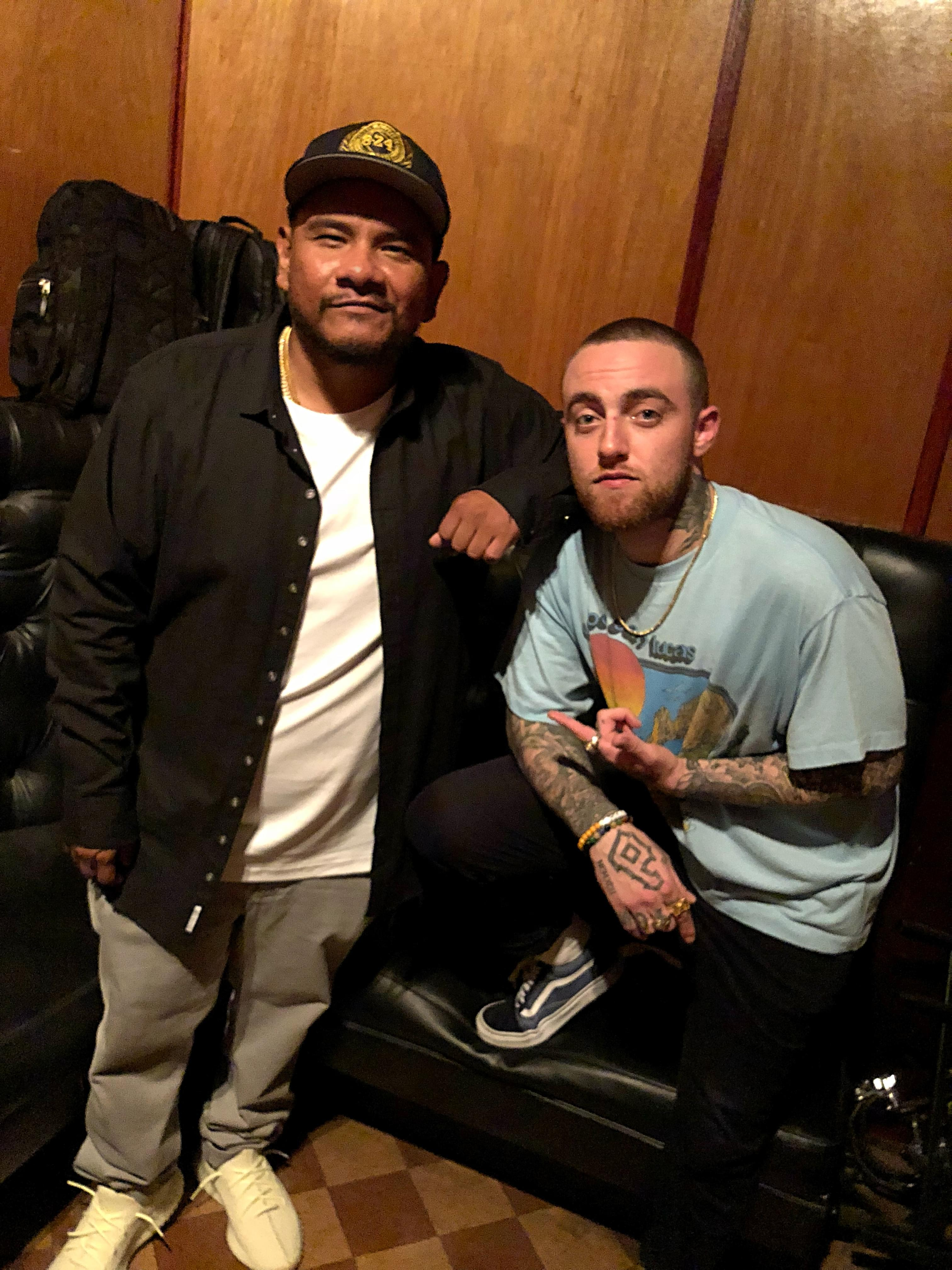 J Cruz Celebrates Mac Miller's Birthday by Sharing Last Moments Together [WATCH]