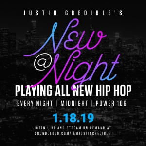 [STREAM] All New Hip Hop from Future, City Girls, Wale & More on Justin Credible's New @ Night Mix