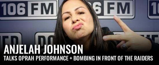 Anjelah Johnson Talks Oprah Performance + How She Bombed In Front Of The Raiders