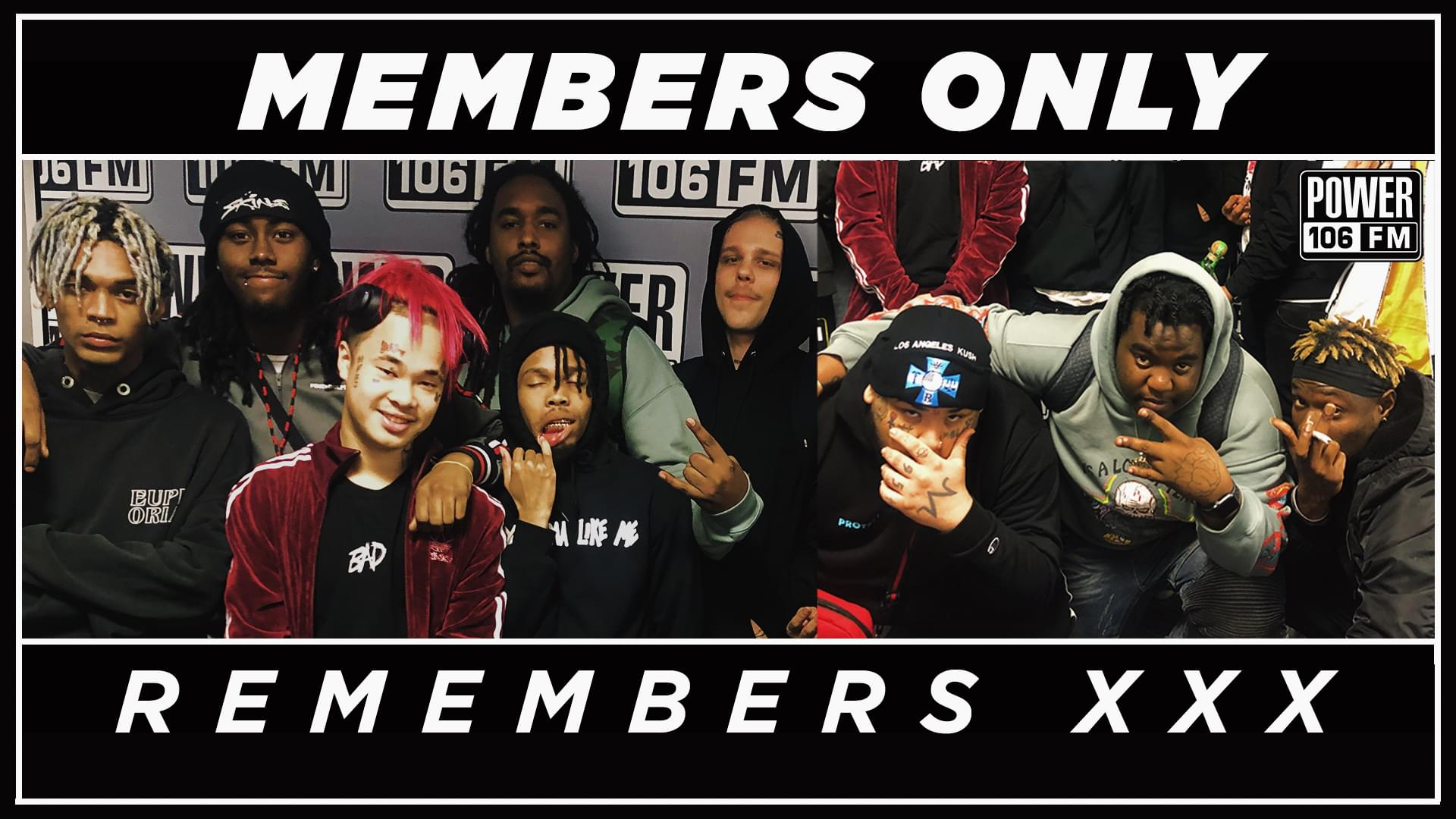 Members Only Share Favorite Memories with XXXTentacion + Best Part Of Making Vol. 4