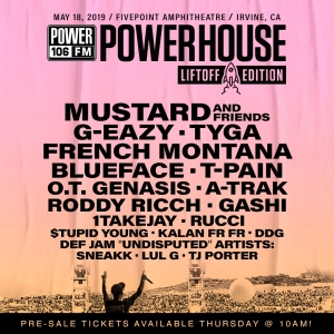 Mustard & Friends, G-Eazy, Tyga, French Montana, Blueface + MORE Taking Over #PowerhouseLA 2019