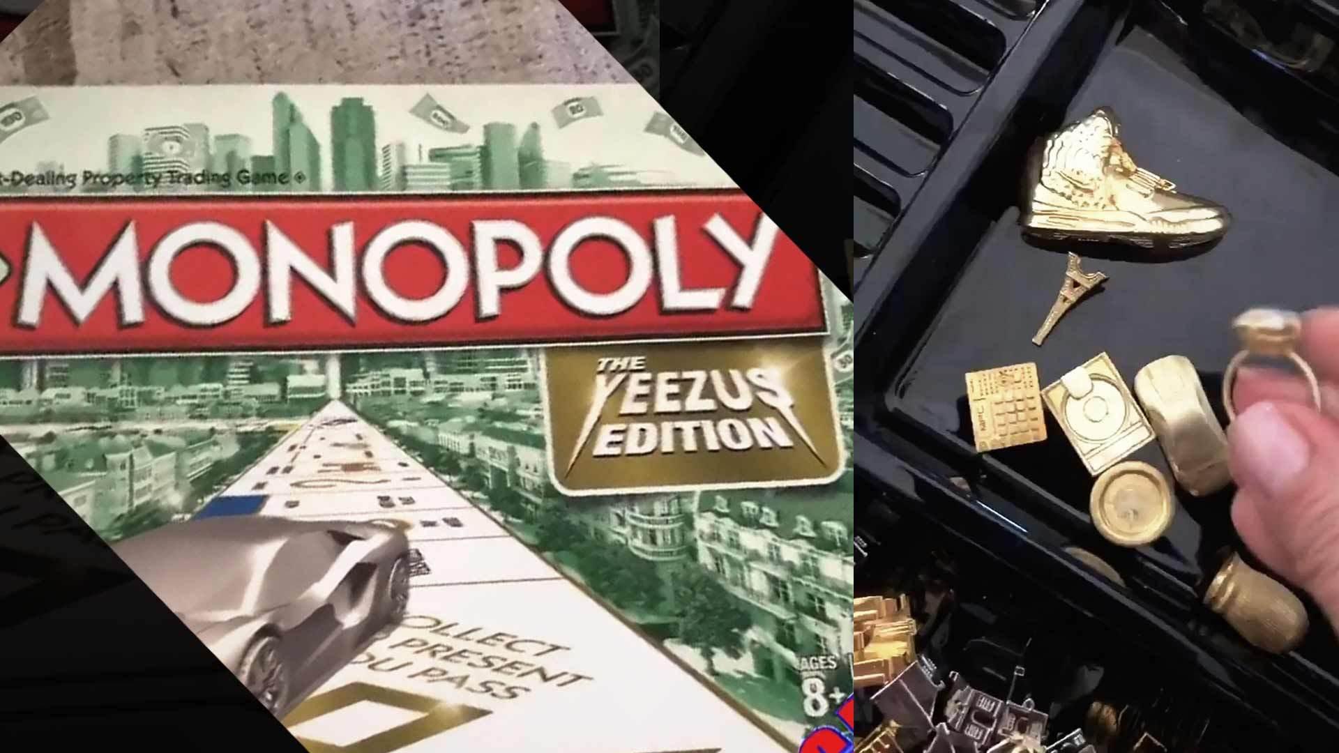 Kim Kardashian Gives Inside Look At The Custom YEEZUS Monopoly Game