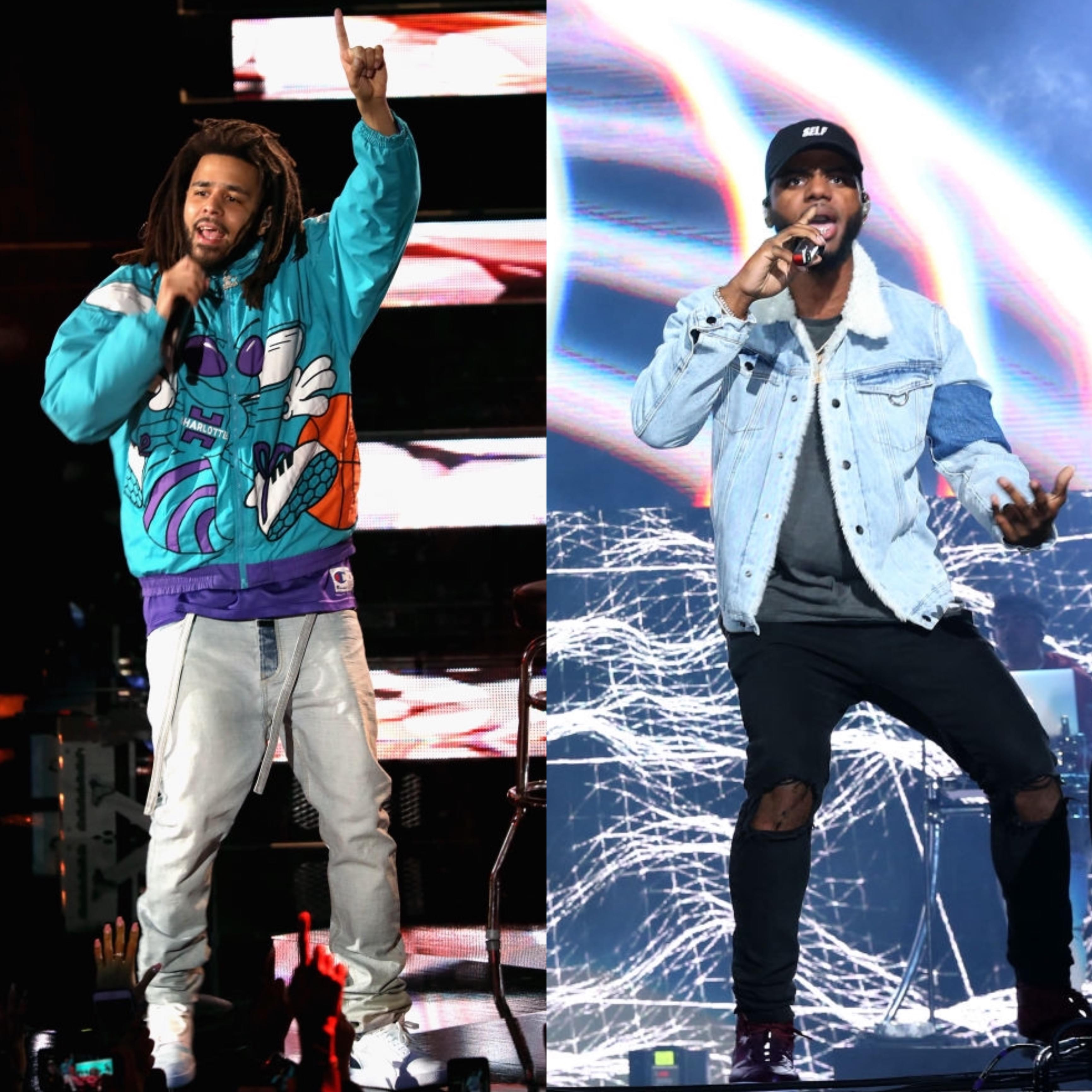 J  Cole And Bryson Tiller Slapped With Suits Over Alleged