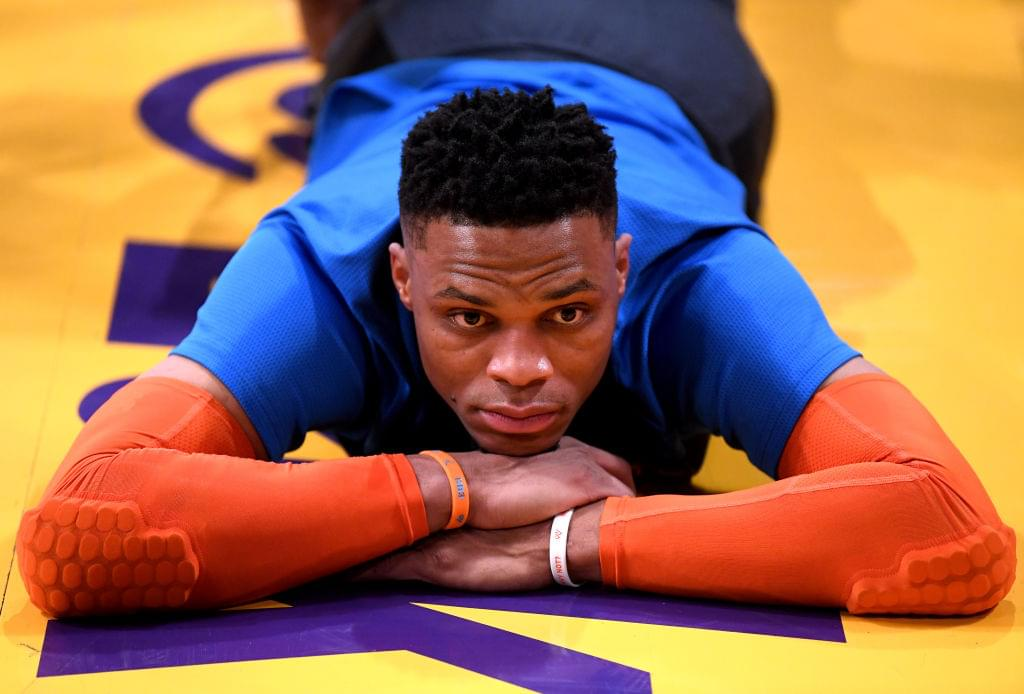 """Russell Westbrook Goes Off On """"Disrespectful"""" Fan Of Utah Jazz"""