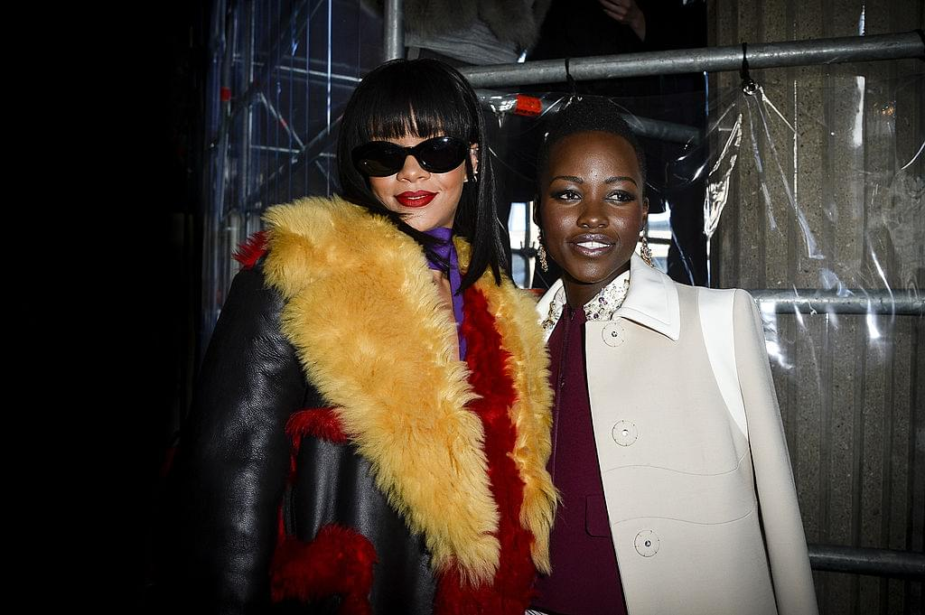 Are Lupita Nyong'o & Rihanna Working On A TOP Secret Collab?!
