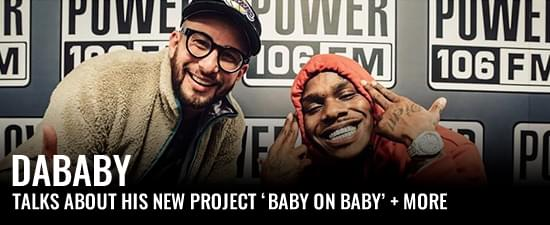 DaBaby & LA Leakers Talk His New Project 'Baby On Baby' + More