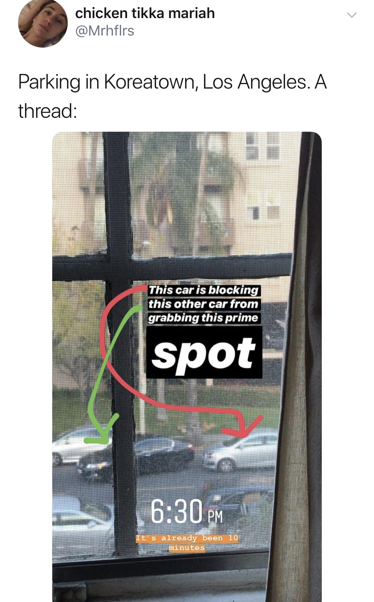 This Viral Twitter Thread About Parking In LA Will Have You On The EDGE Of Your Seat