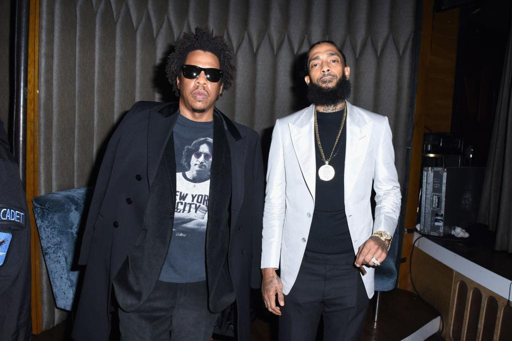Jay-Z Writes Emotional Tribute Letter Included In Nipsey Hussle's Celebration of Life Memorial Service