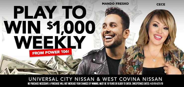 Play To Win $1,000 Weekly!