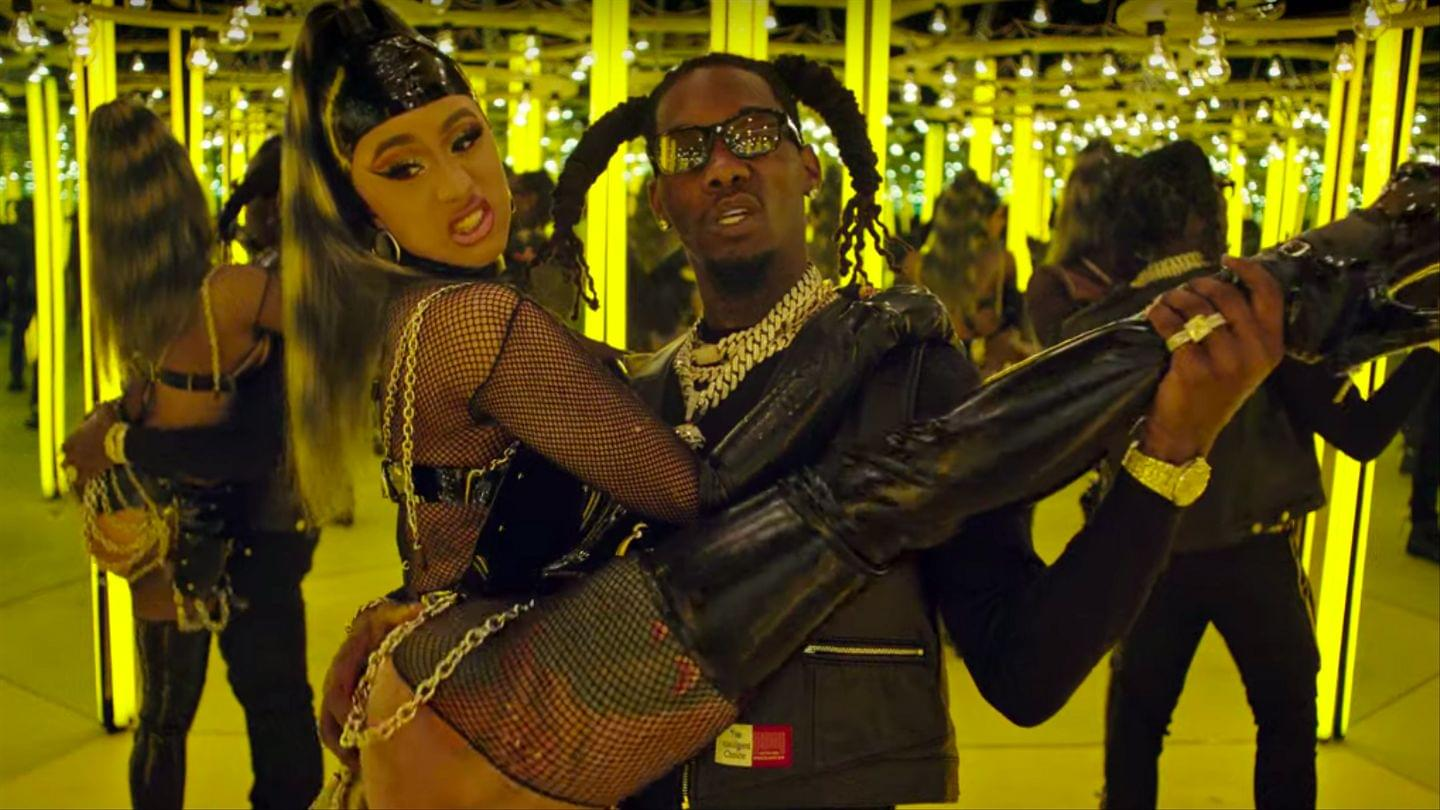 "Offset And Cardi B Drop Video For ""Clout"""