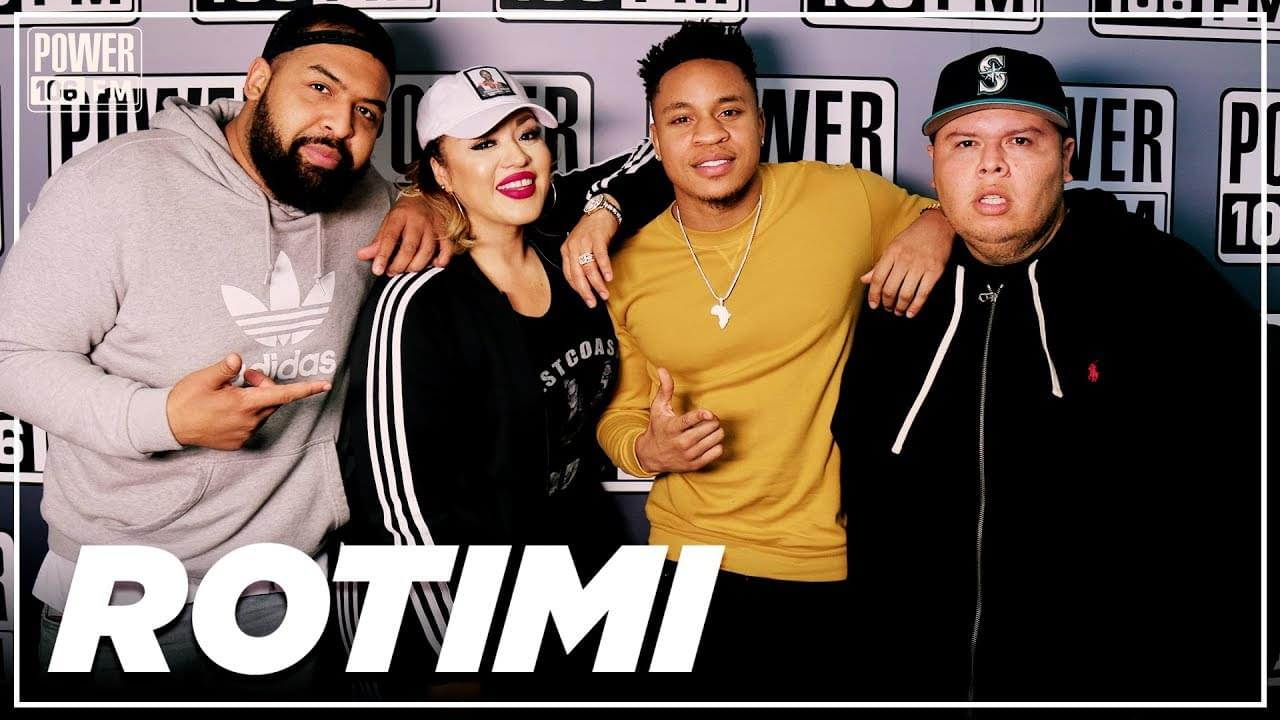 "Rotimi On 'Power', Getting Advice From Jay-Z, ""Love Riddim"" Single + How Nipsey Hussle Funeral Affected Him"