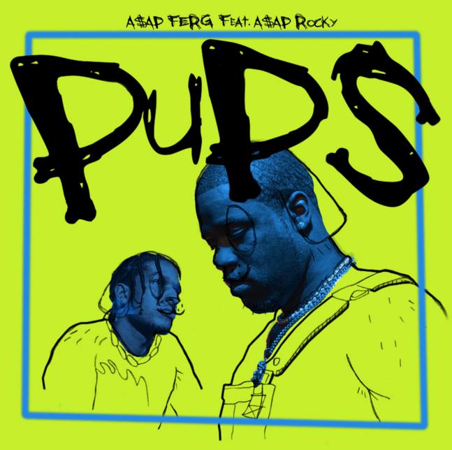 "A$AP Ferg & A$AP Rocky Drop Bars on New Single ""Pups"" [LISTEN]"