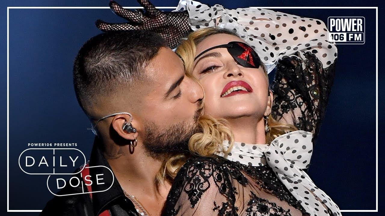 DailyDose: Maluma Shares Passionate Kiss With His Mother