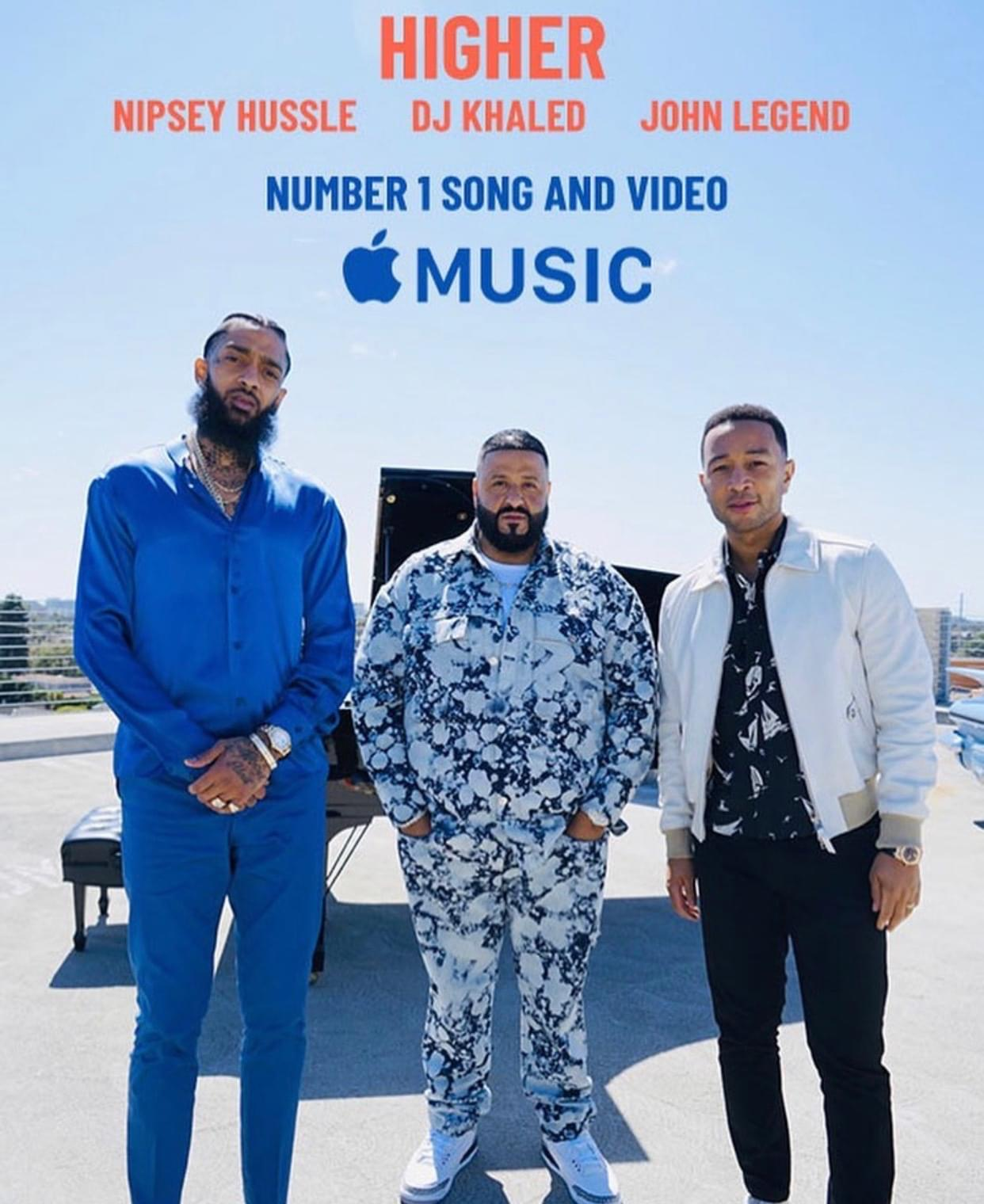 """DJ Khaled Talks About """"Higher"""" Being Nipsey Hussle's Final Gift"""