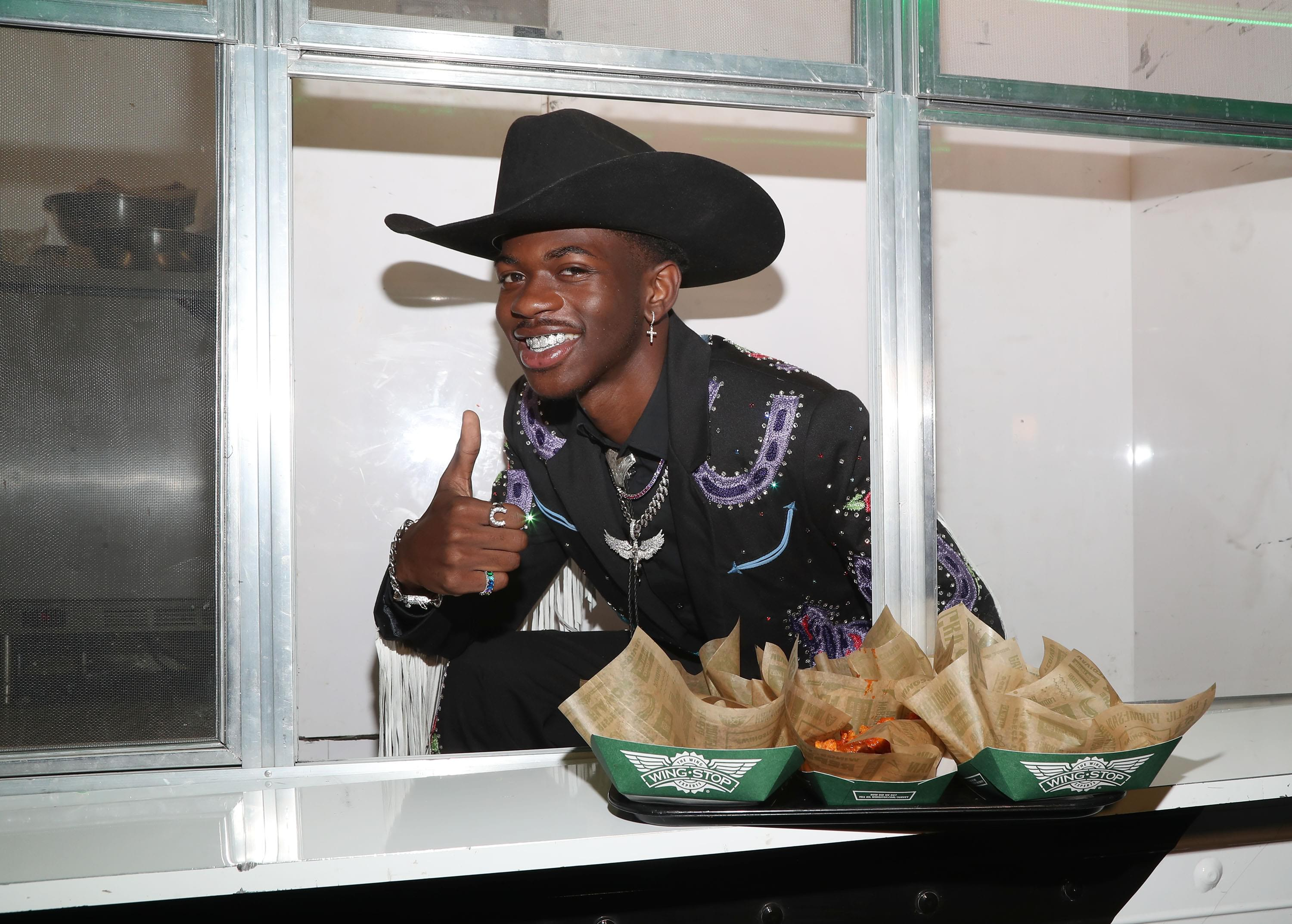 """Lil Nas X Surprises Elementary School With """"Old Town Road"""