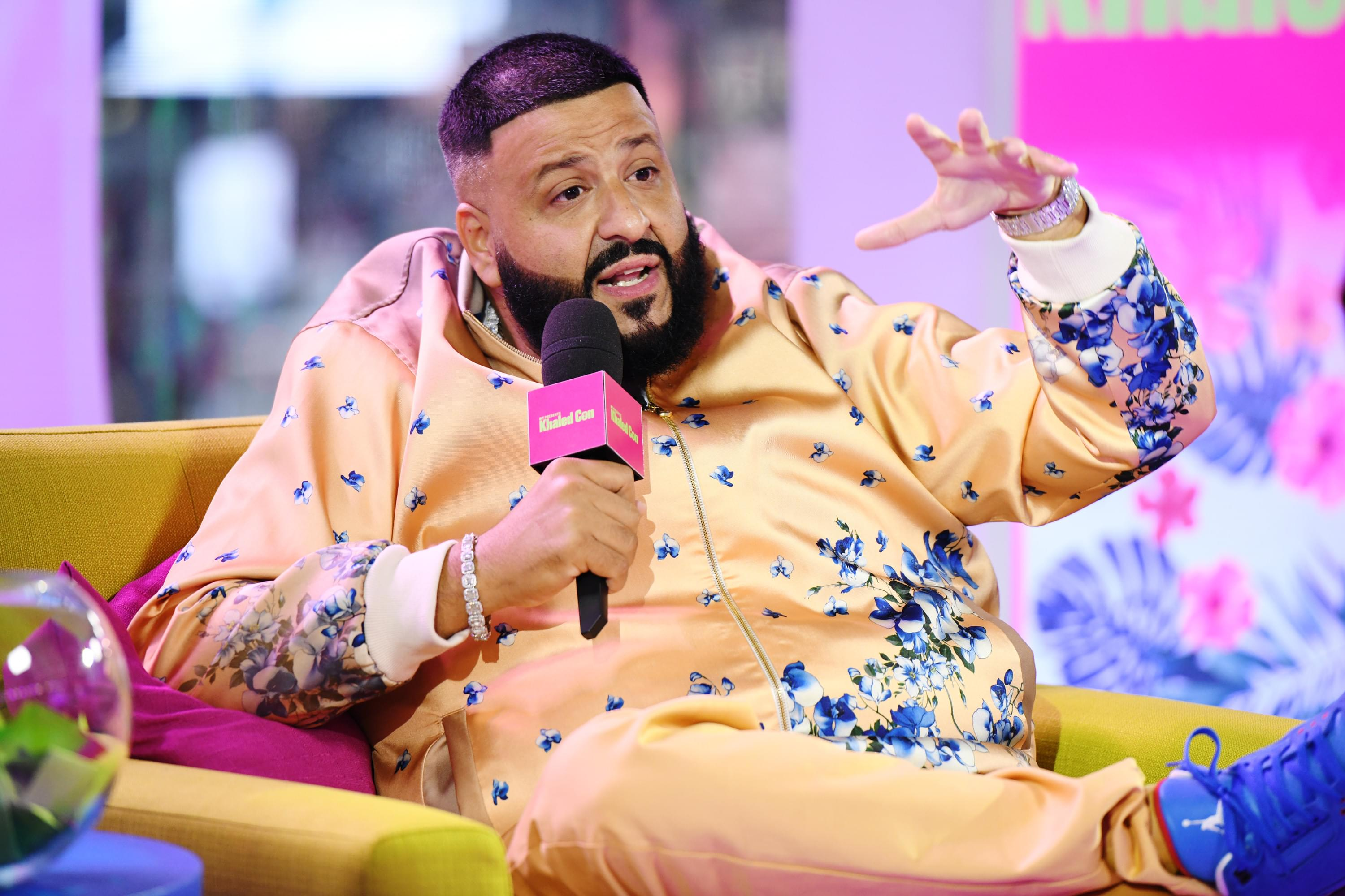 DJ Khaled Throws A Fit After Album Comes In At No. 2