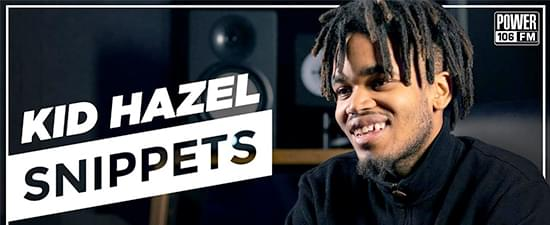 Kid Hazel: From Costco To Producing 21 Savage's 'I AM > I WAS' | #SNIPPETS