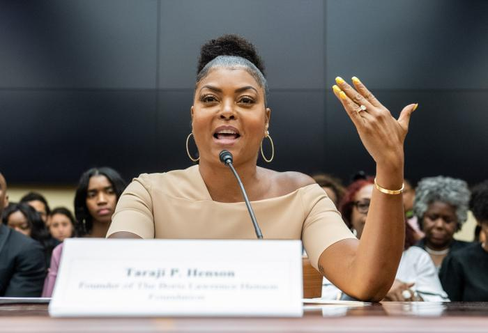 Taraji P. Henson Talks About Mental Health On Capitol Hill