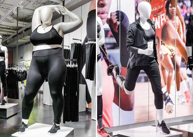Nike Comes Out With Full-Figured Mannequins