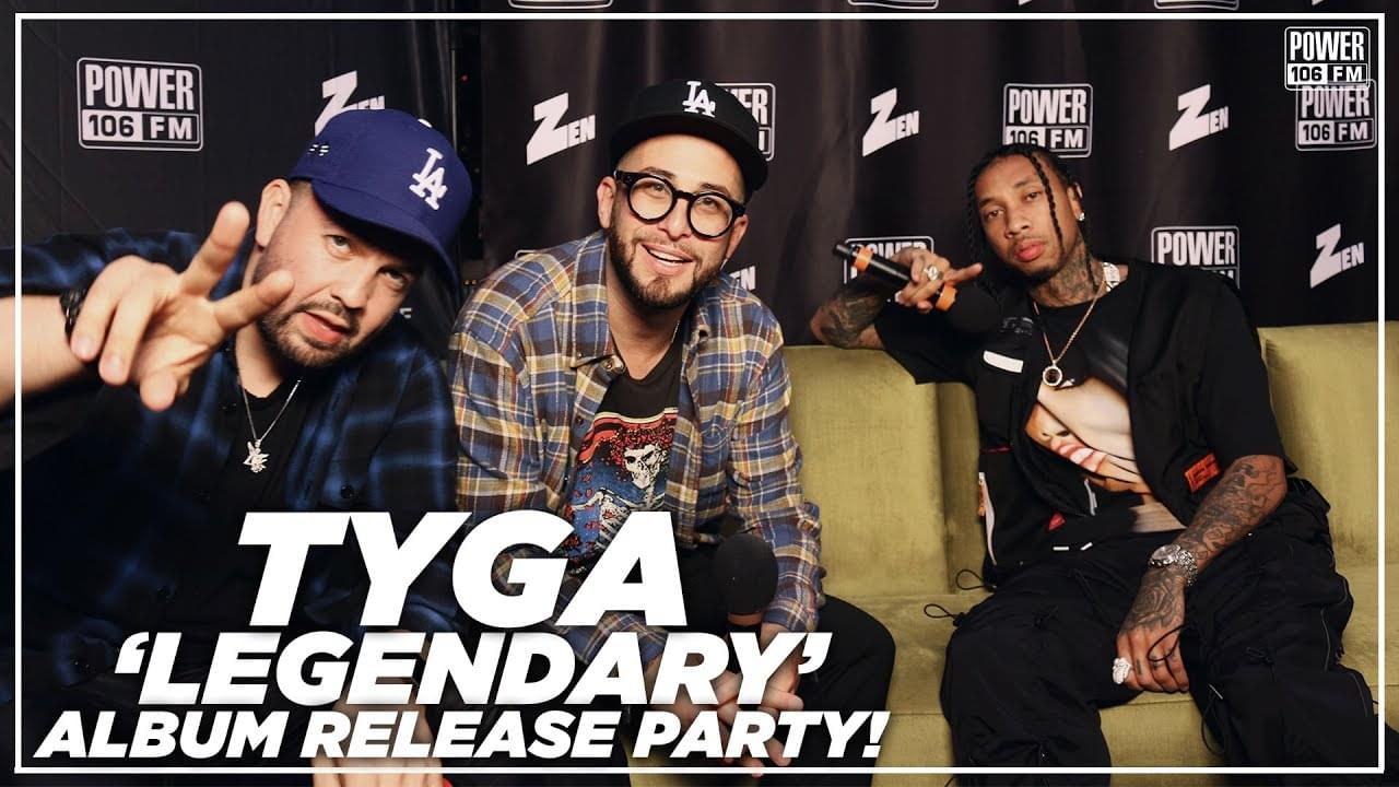 Tyga On 'Legendary' Details, Features, Fav. Track, & Inspiration Behind New Album
