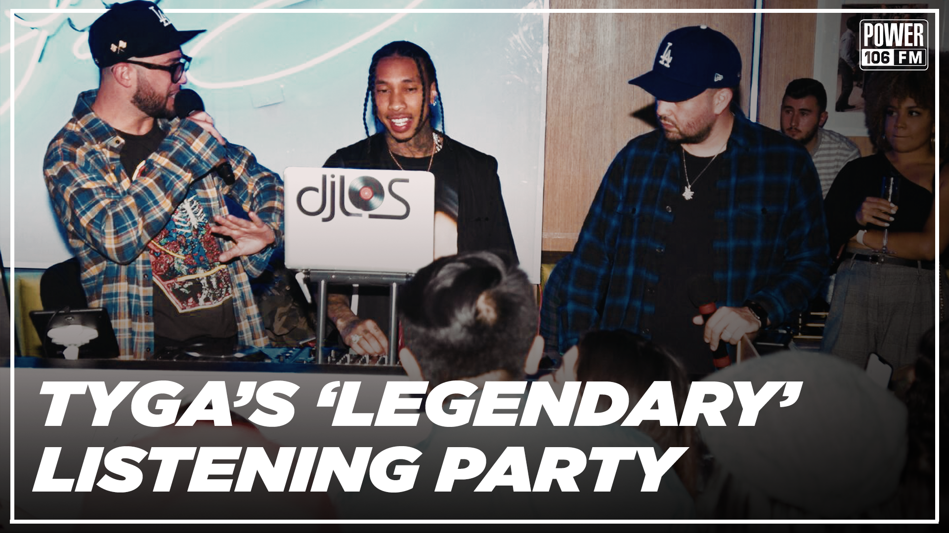 Tyga's Exclusive 'Legendary' Album Release Party at Bootsy Bellows w/ LA Leakers