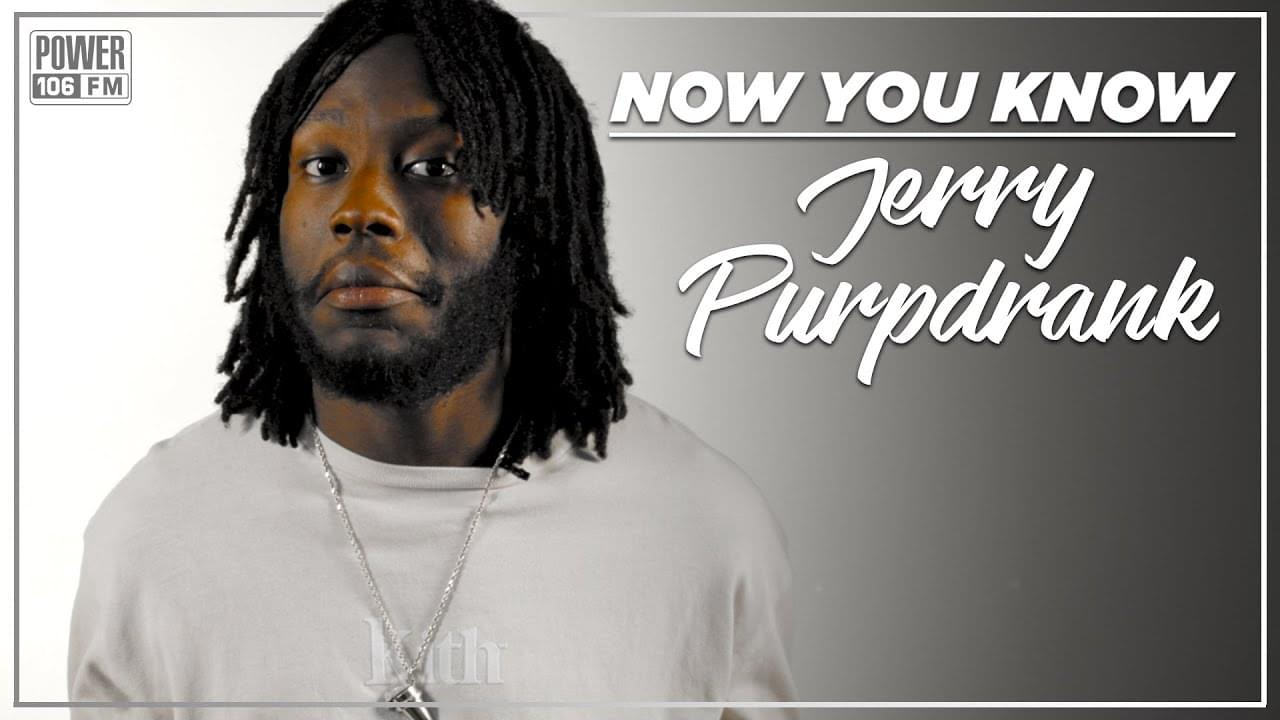 "Jerry Purpdrank Talks Coming Up w/ King Bach, ""Extra"" Visual & Tinder Activities [WATCH]"