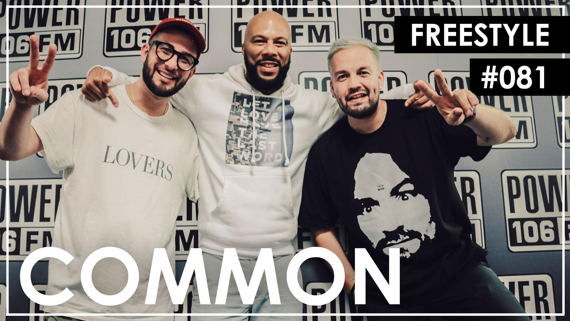 Common's 'Let Love' Freestyle w/ The L.A. Leakers [WATCH]