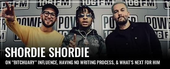 "Shordie Shordie On ""Bitchuary"" Influence, Having No Writing Process, & What's Next For Him"