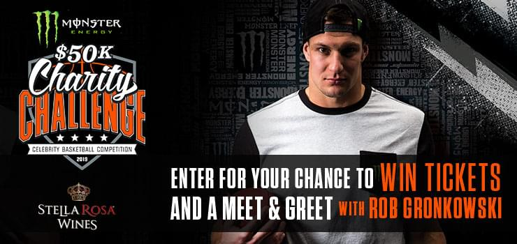 Enter To Win Tickets And A Meet & Greet With Rob Gronkowski! | KPWR-FM