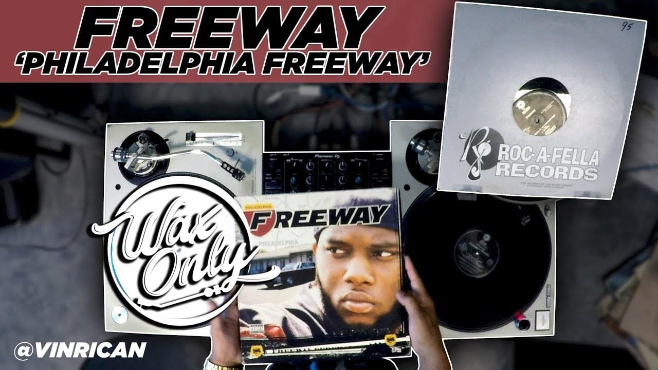 #WAXONLY: Vin Rican Flips Through Samples Used On Freeway's 'Philadelphia Freeway' [WATCH]