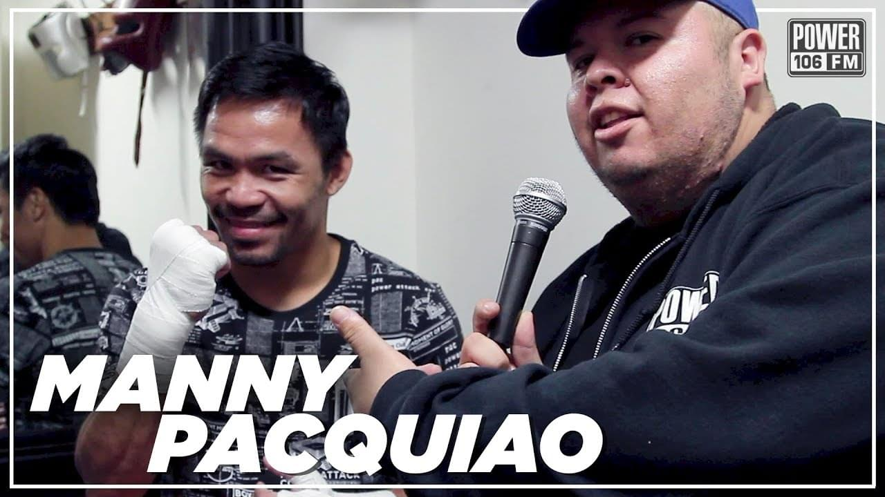 Manny Pacquiao Speaks On Keith Thurman's Trash Talk + Opinion On Lakers & Clippers Trades