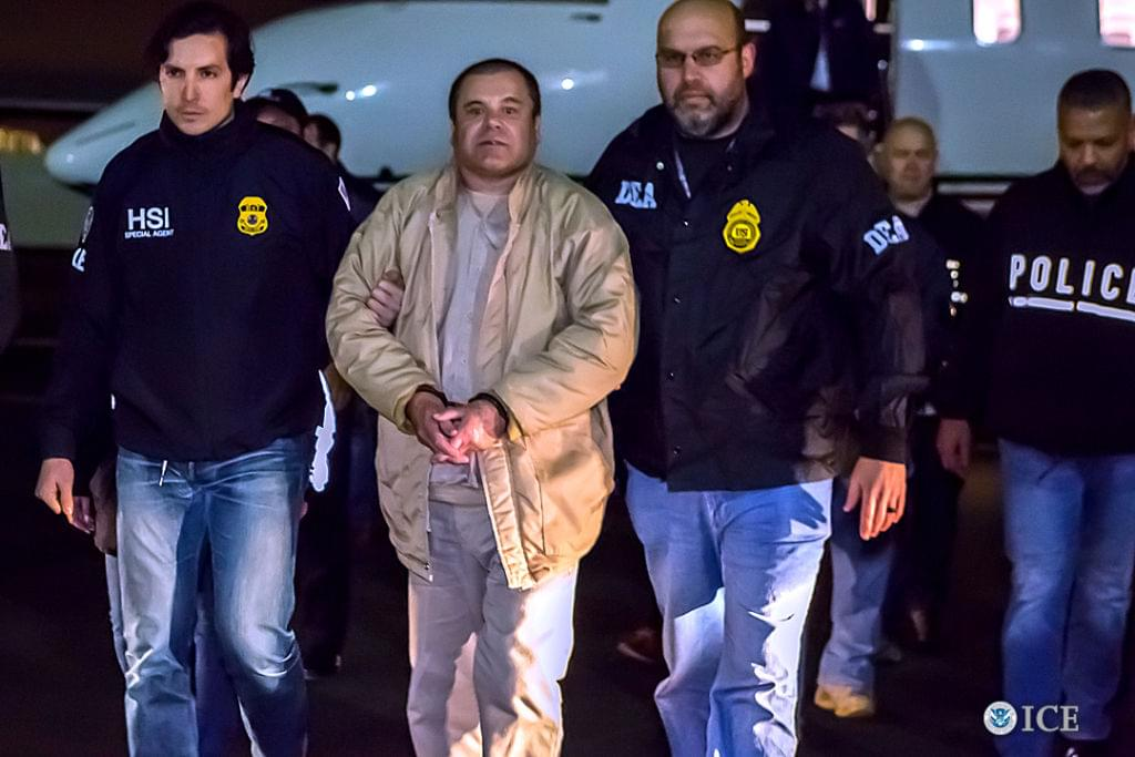 """El Chapo"" Guzman Sentenced To Life In Prison"