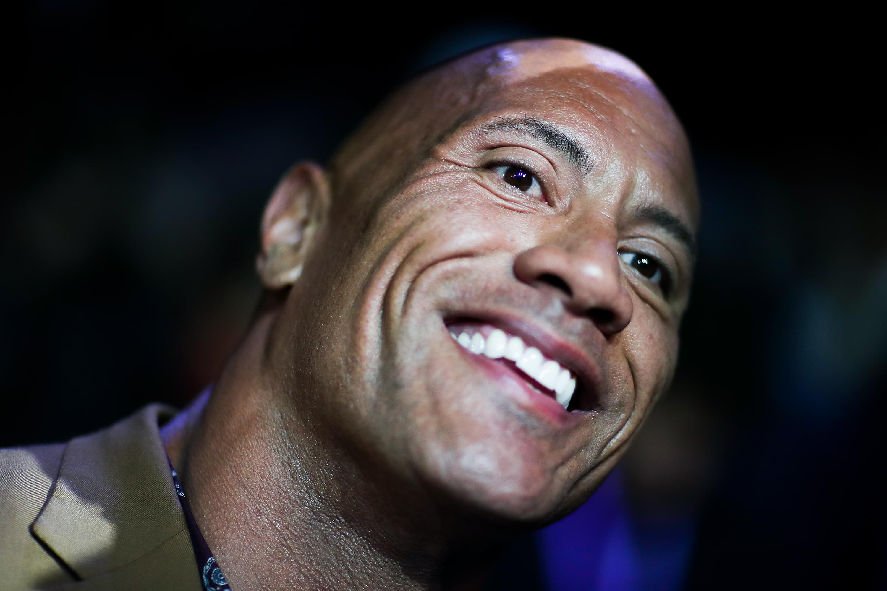 """""""The Rock"""" Finally Ties The Knot!"""