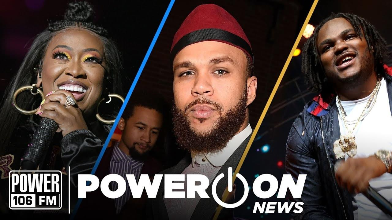 #PowerOn: Missy Elliott Drops 'Iconology', Tee Grizzley Involved In Drive-By + Logic Announces First Son