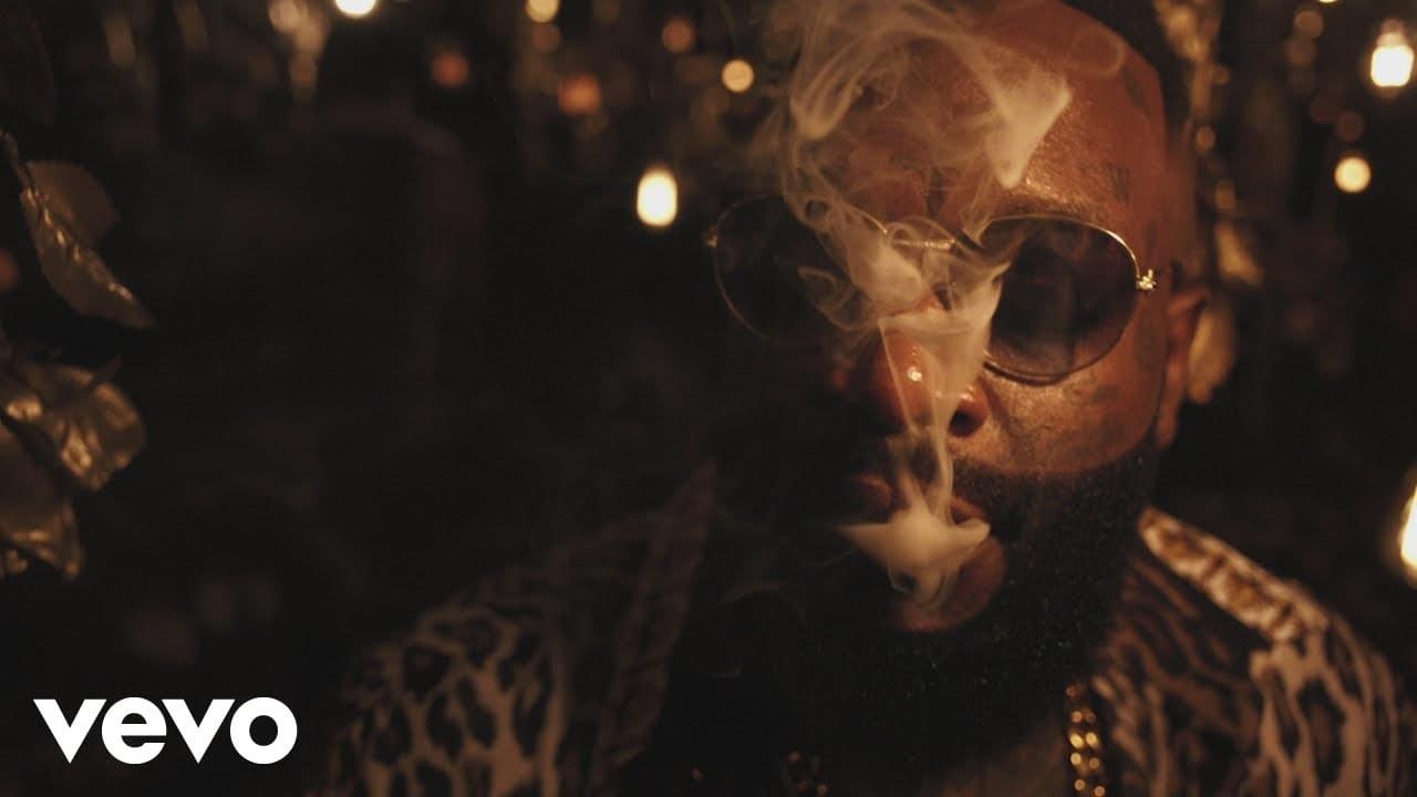 """Rick Ross Dims The Lights in """"Gold Roses"""" Visual [WATCH]"""