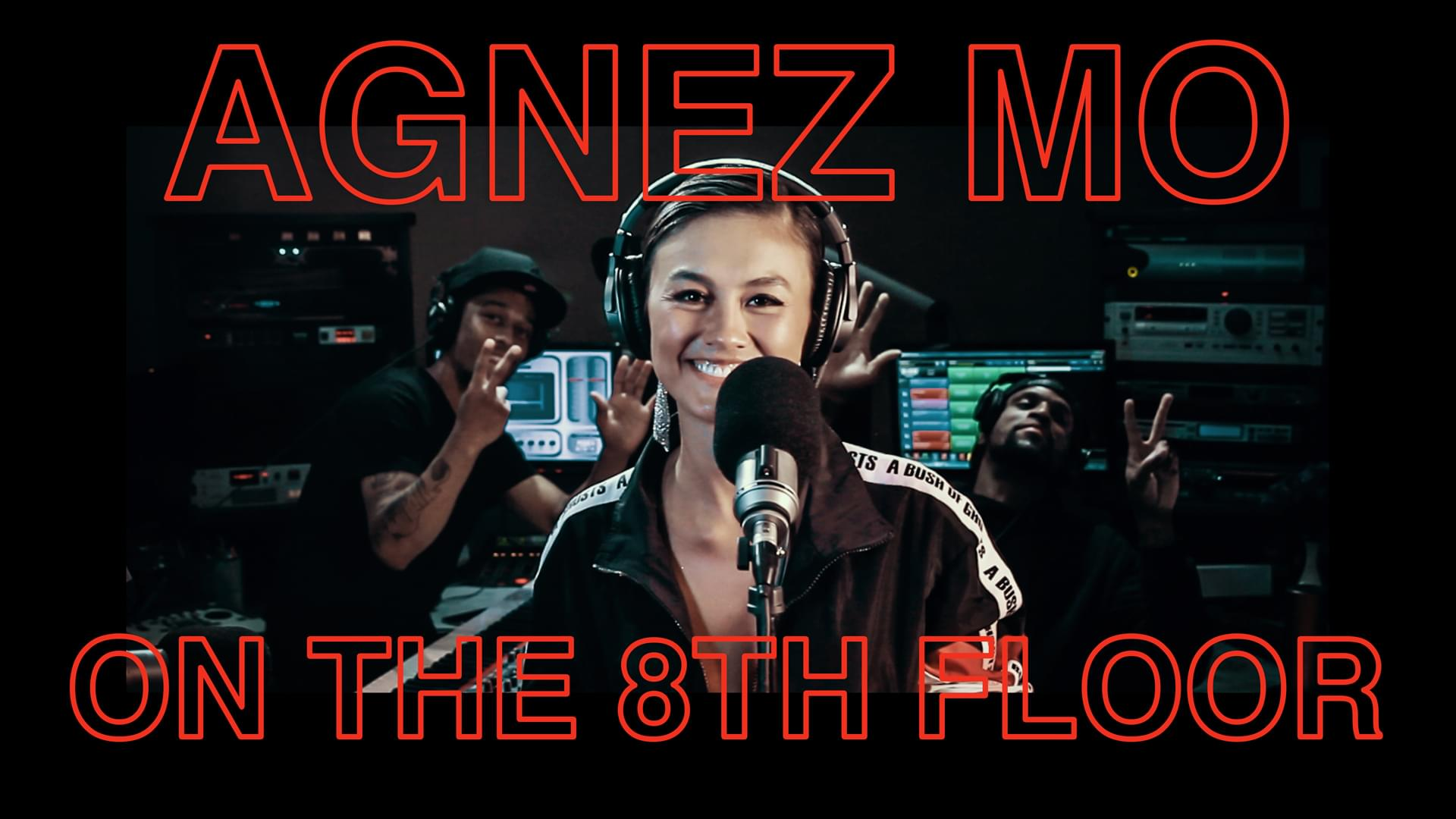 "Agnez Mo blesses us with ""Damn I Love You"" LIVE #OnThe8thFloor [WATCH]"