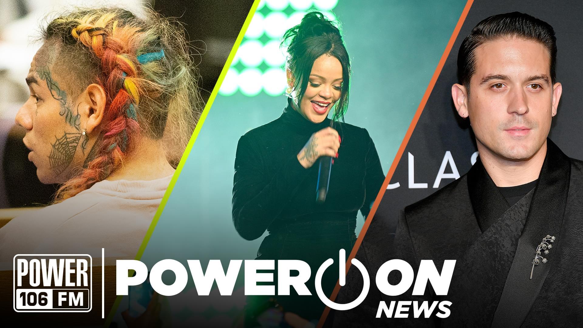 #PowerOn: G-Eazy Drops 'B-Sides', Riri Raises Eyebrows at Diamond Ball & Tekashi Snitches
