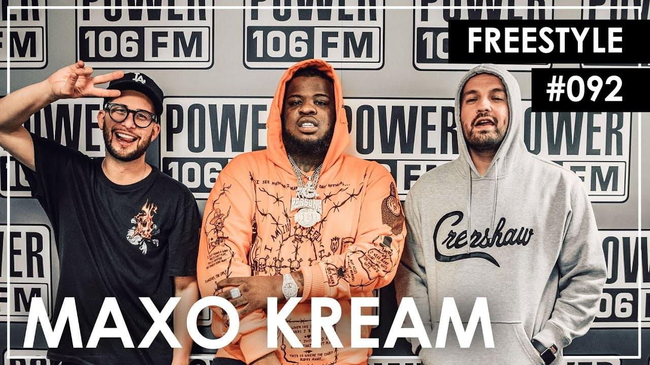Maxo Kream Freestyle w/ The L.A. Leakers