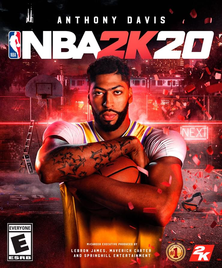 Enter to Win a Copy of NBA 2K20 FROM 2K!!