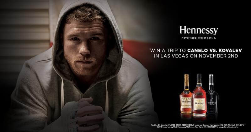 Hennessy Canelo vs Kovalev