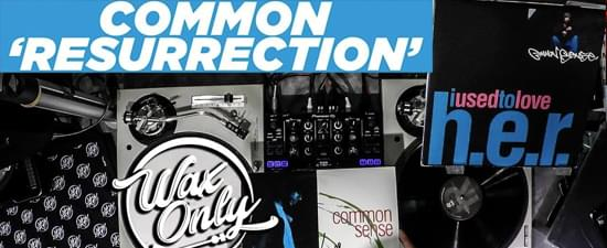 Wax Only: VinRican Showcases Samples On Common's 'Resurrection'