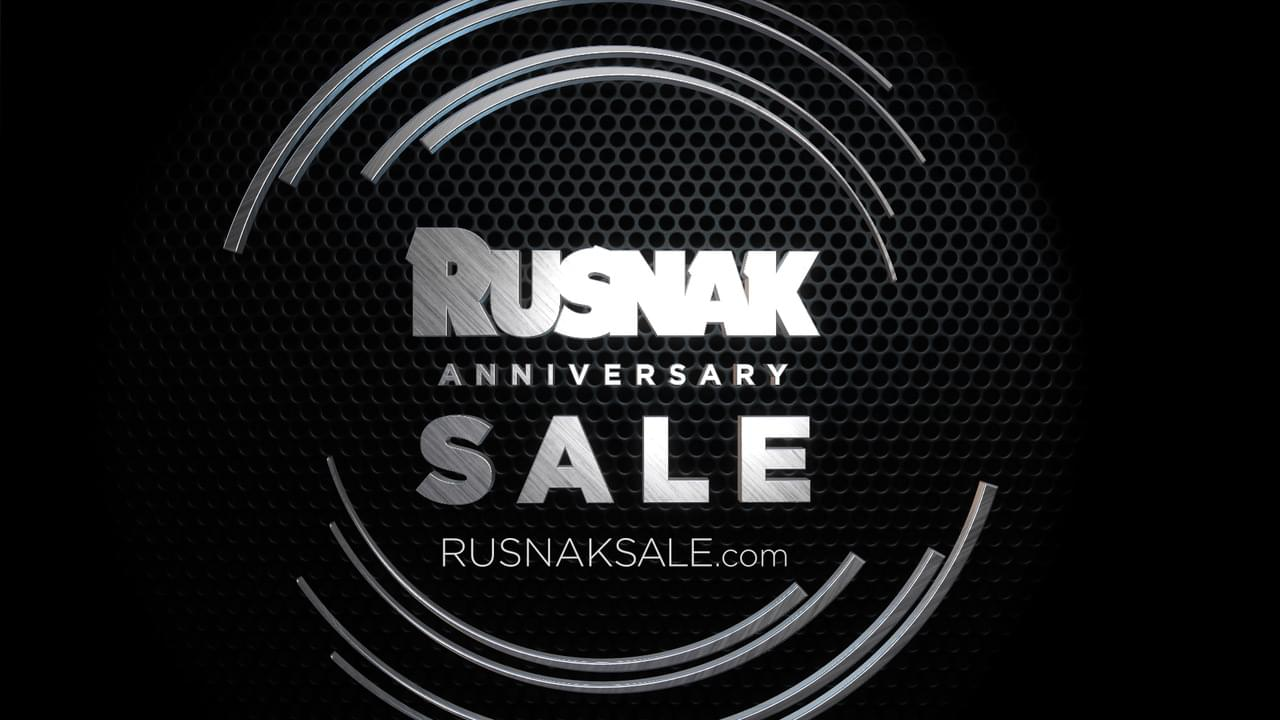 Rusnak October Anniversary Sale with DJ Carisma