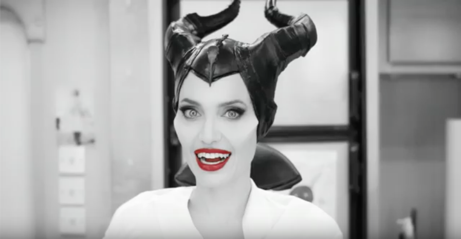 "Mira como Angelina Jolie se transforma a ""MALEFICENT: MISTRESS OF EVIL"""
