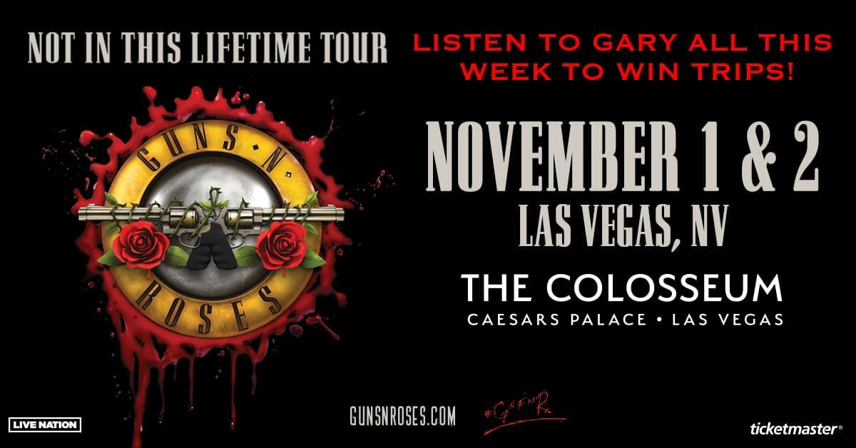 Win a Trip to Guns N' Roses' Not In This Lifetime Tour!