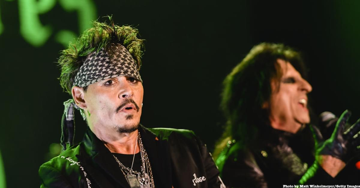Alice Cooper Had to Convince Johnny Depp to Sing 'Heroes'