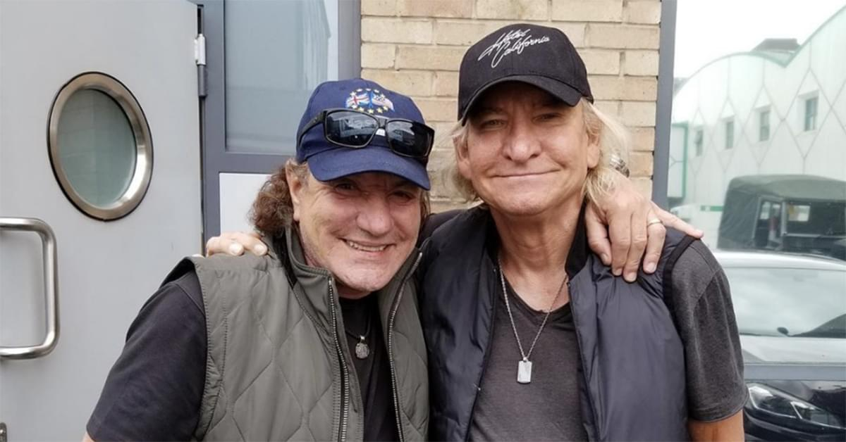 Joe Walsh and Brian Johnson Hint at a Collaboration