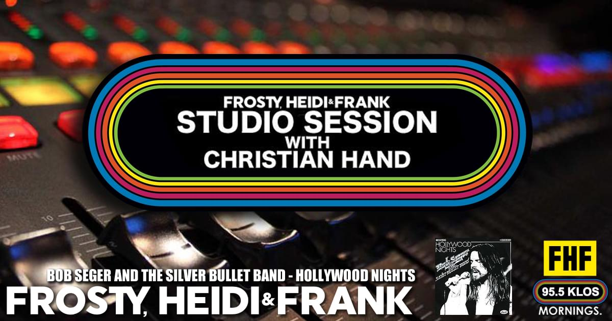 FHF Studio Session With Christian James Hand 7/1/19
