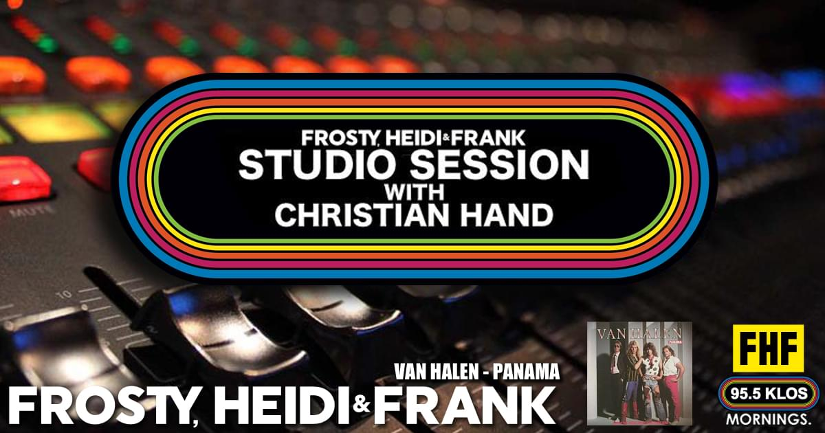 FHF Studio Session With Christian James Hand 7/8/19