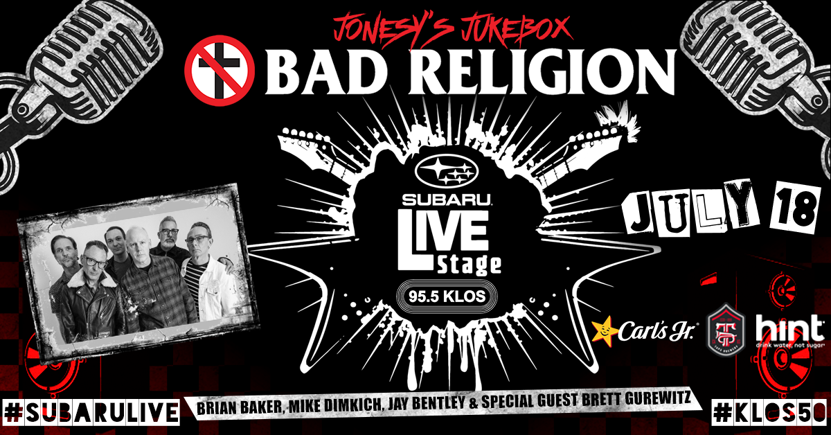 Enter to Win Access: KLOS Subaru Live Stage with Bad Religion