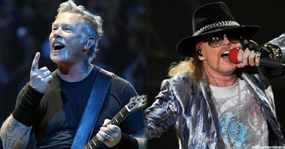 Metallica + Guns N' Roses Featured On Forbes Highest-Paid